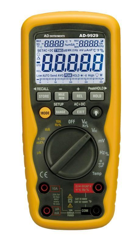 Fine Professional Multimeter Cat Iv Ip67 Ad9929 Ad Instruments Wiring Cloud Hisonuggs Outletorg