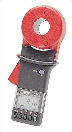Clamp earth leakage current measurement, reporting and calibration loop -  CA6415